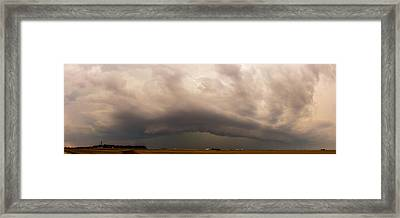 3rd Storm Chase Of 2015 Framed Print