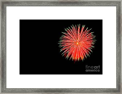 4th Of July Fireworks. Framed Print by Eyal Aharon