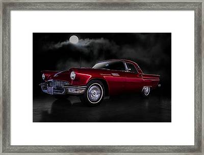 '57 T-bird Framed Print by Douglas Pittman