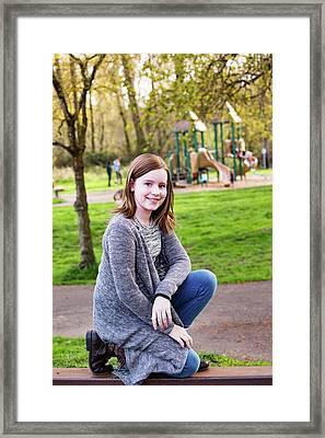 9 Framed Print by Rebecca Cozart