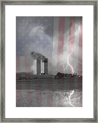 911 We Will Never Forget  Framed Print by James BO  Insogna
