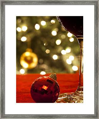 A Drink By The Tree Framed Print by Andrew Soundarajan