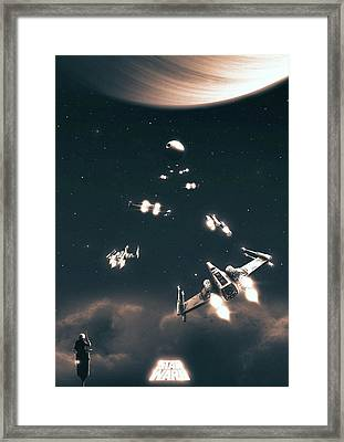 A New Hope Framed Print by Colin Morella