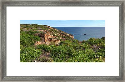 Framed Print featuring the photograph Above The Pacific by Cliff Wassmann