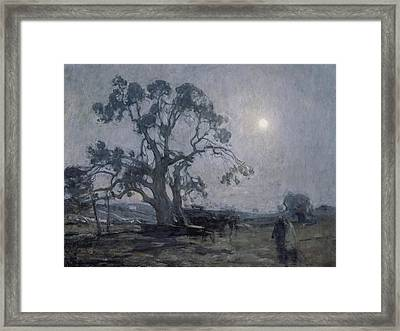 Abraham's Oak Framed Print