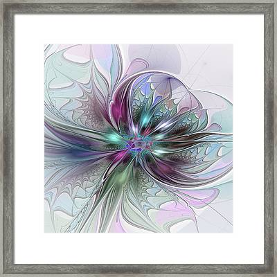 Abstract Art Framed Print