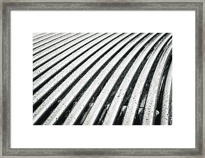 Abstract Background Framed Print by Tom Gowanlock