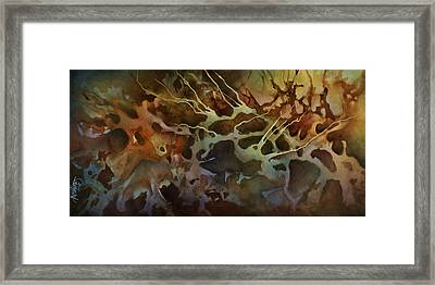 Abstract Design 87 Framed Print by Michael Lang