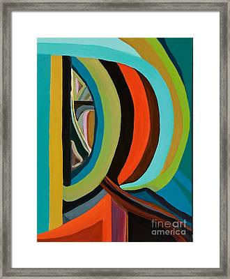 Abstract Images Framed Print