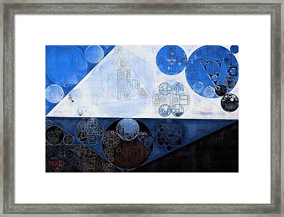 Abstract Painting - Lochmara Framed Print by Vitaliy Gladkiy