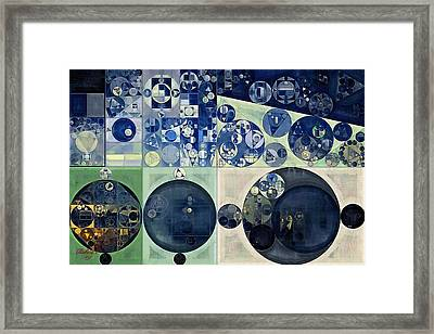 Abstract Painting - Midnight Express Framed Print
