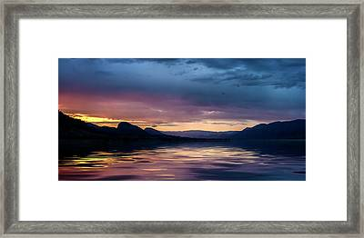 Framed Print featuring the photograph Across The Clouds I See My Shadow Fly by John Poon