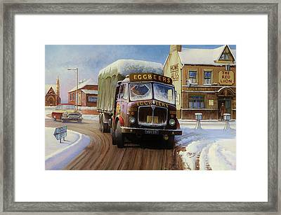 Aec Tinfront Framed Print by Mike  Jeffries