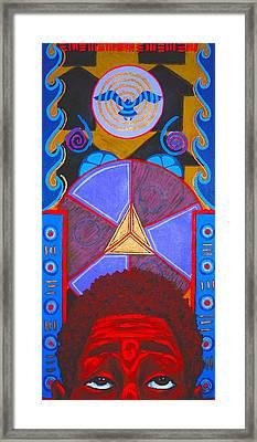 Aesthetic Ascension Framed Print by Malik Seneferu