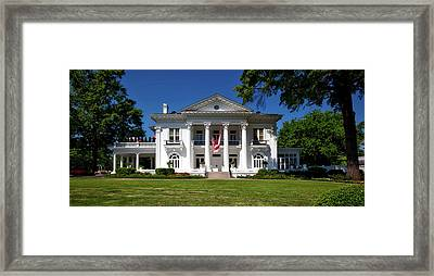 Alabama Governor's Mansion Framed Print by Mountain Dreams