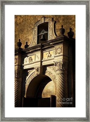 Alamo Mission Framed Print by Iris Greenwell