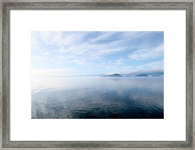 Framed Print featuring the photograph Alaska by Lucian Capellaro