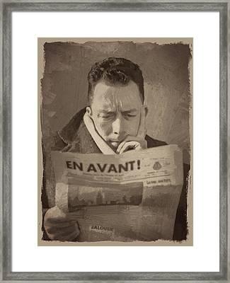 Albert Camus 1 Framed Print