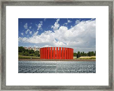 Alcorcon Arts Creation Center Framed Print