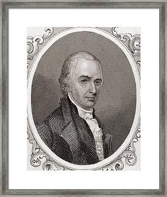 Alexander Hamilton Framed Print