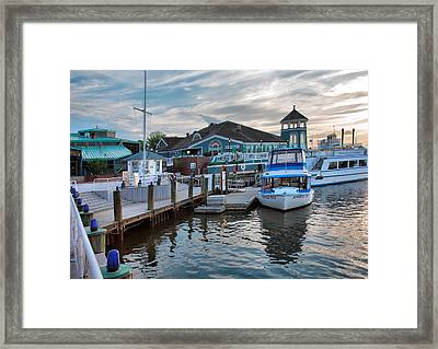 Alexandria Waterfront I Framed Print