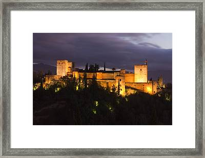 Alhambra Framed Print by Andre Goncalves