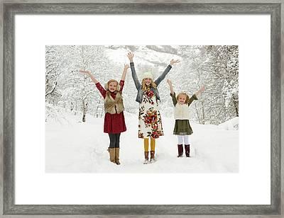 Alison's Family Framed Print
