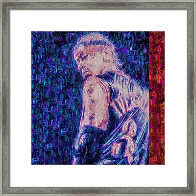 Allen Iverson Ai The Answer Framed Print