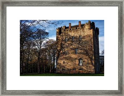 Framed Print featuring the photograph Alloa Tower by Jeremy Lavender Photography