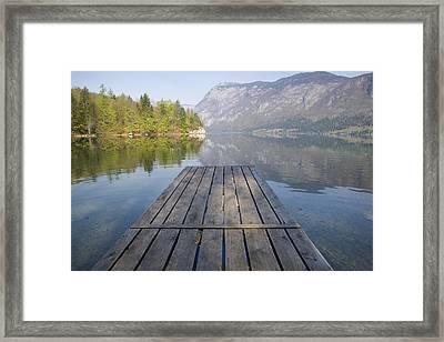 Alpine Clarity Framed Print