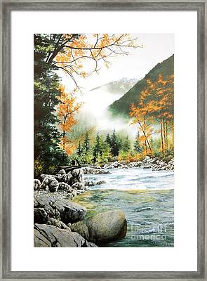 Alpine Tapestry Framed Print