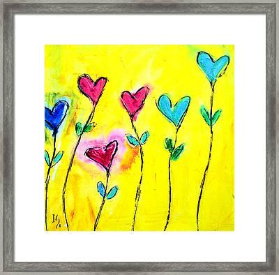 Amor De Colores Framed Print