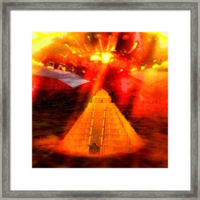 Ancient Invasion Framed Print