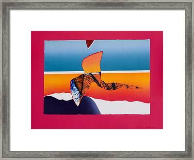 Angel Flight Framed Print by Richard Knox