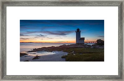 Annisquam Lighthouse Framed Print