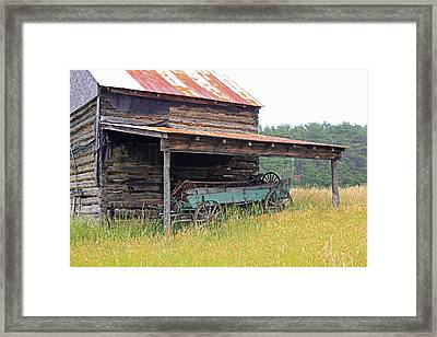Another Time Framed Print by Suzanne Gaff