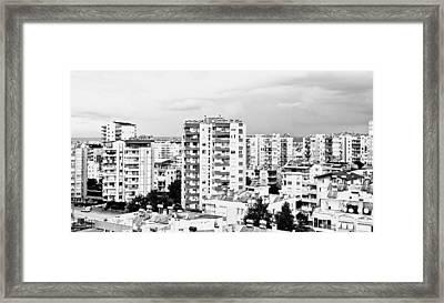 Antalya Buildings  Framed Print