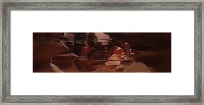 Antelope Canyon Framed Print by Don Wolf