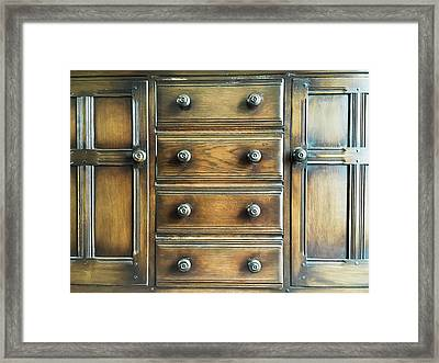 Antique Furniture Framed Print