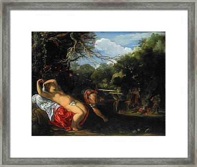 Apollo And Coronis Framed Print