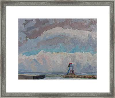 Approaching Cold Front Framed Print by Phil Chadwick
