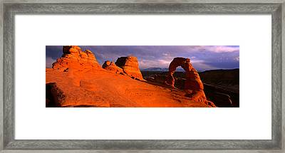 Arches National Park, Utah, Usa Framed Print by Panoramic Images