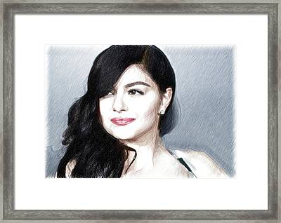 Ariel Winter Poster Framed Print by Best Actors