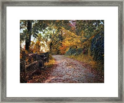 Around The Bend Framed Print by Jessica Jenney