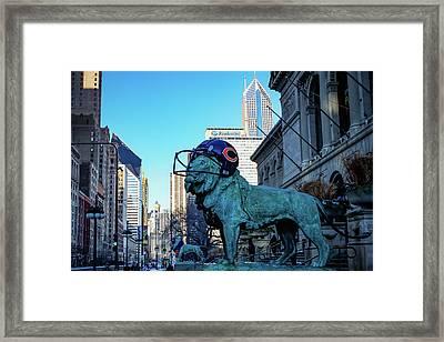 Art Institute Of Chicago Lions Framed Print