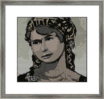 Artist Milka Tsenova Framed Print by Pemaro