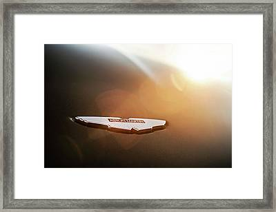 Aston Martin Wings Framed Print by Drew Phillips