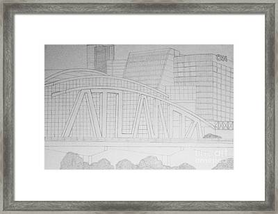 Atlanta Framed Print
