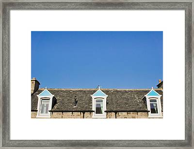Attic Rooms Framed Print by Tom Gowanlock