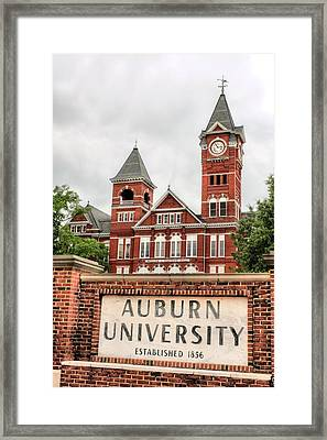 Auburn University  Framed Print